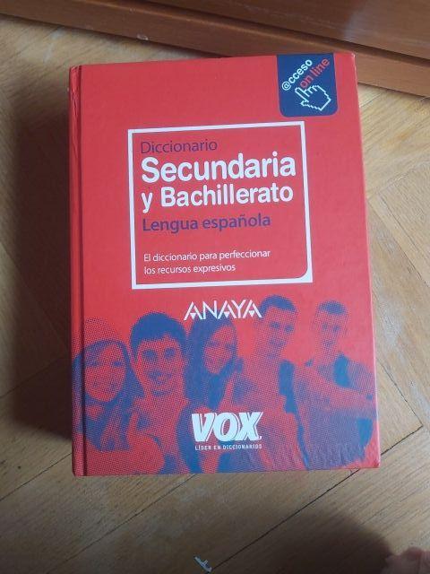 diccionario en español secundaria y bachillerato