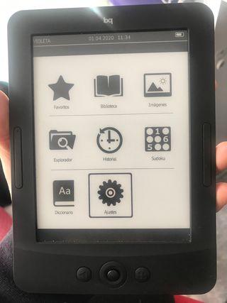 Libro electrónico E-book bq Cervantes