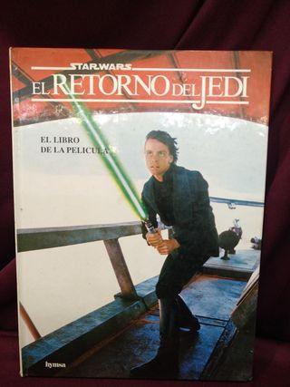 Star wars, El retorno del Jedi, el libro de la pel