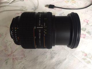 Objetivo NIKON 24-85mm af nikkor f2.8-4 D