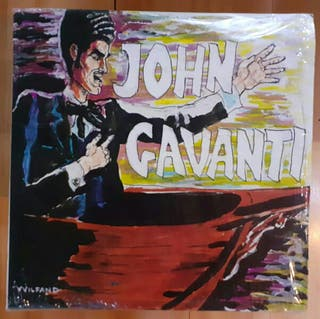 John Gavanti (No Wave/Experimental - 1980) vinilo