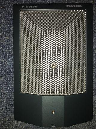 Micrófono shure beta 91A