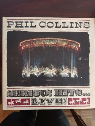 Vinilo Phill Collins Serious Hits