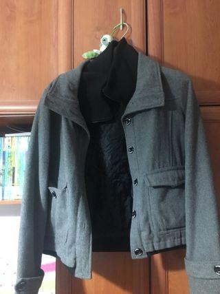 Vendo abrigo gris TALLA S
