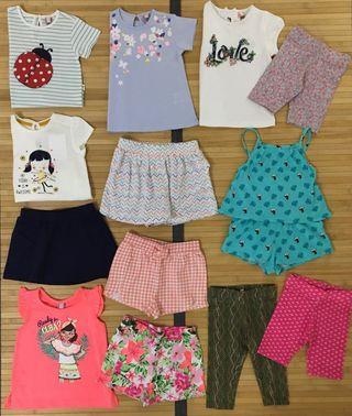Lote ropa verano niña talla 18-24 meses