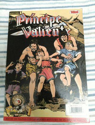 Libro El Príncipe Valiente edición 1988 cómic