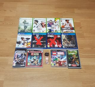 Pack de Juegos Xbox 360 Ps3 Ps4 y Psp