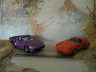 Coches miniatura metálicos Porsche