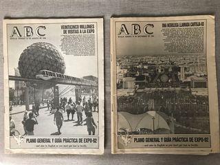 2 EJEMPLARES de ABC EXPO-92 (29 Ag - 19 Sept)