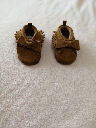 zapatos bebe gap