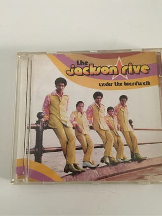 The Jackson Five Under The Boardwalk CD