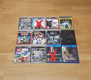 Pack de Juegos Ps3 y Ps4
