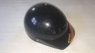 casco medio huevo