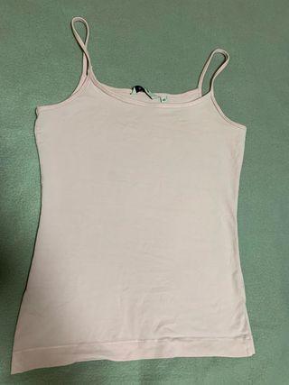 Camiseta tirantes rosa clarito