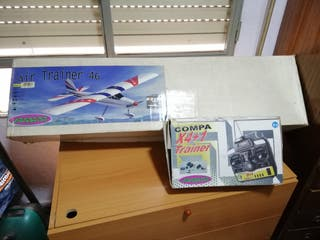 avión gasolina rc