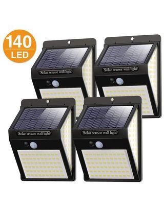 4 Luces solares led para jardín
