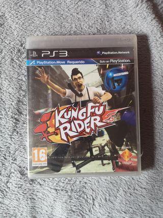 kung fu rider ps3 nuevo precintado