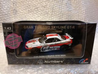 Nissan Skyline R34 Gran Turismo Autoart 1/43