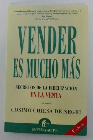 Libro Vender es Mucho Más.