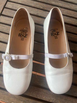 Zapatos de comunión niña T.35