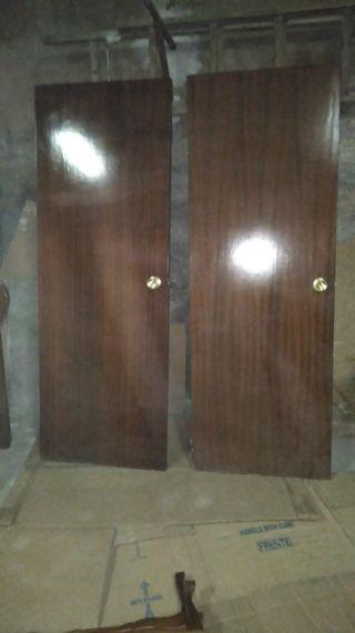 8 puertas,casi sin usar ,estan en buen estado