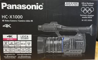 PANASONIC HC-X1000 4K (EQUIPO COMPLETO)