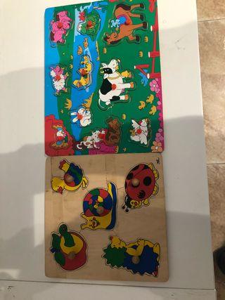 Puzzles madera