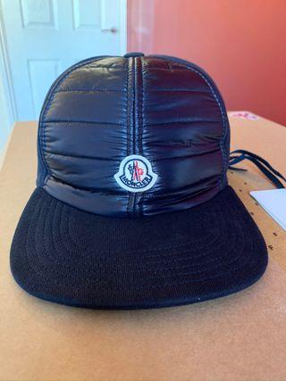 Moncler cap brand new colour navy price £250