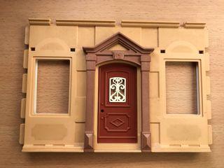 Playmobil pared con puerta casa victoriana