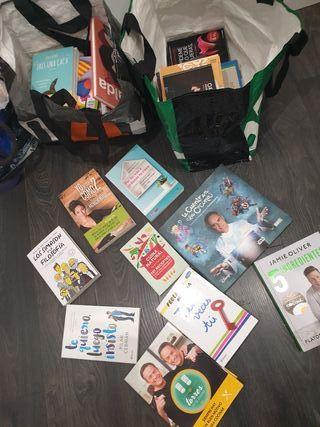 ganga! lote de 2 bolsas de libros