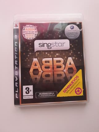 Sing Star Abba ps3