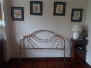 Cabecero y piecero de cama de 1.35