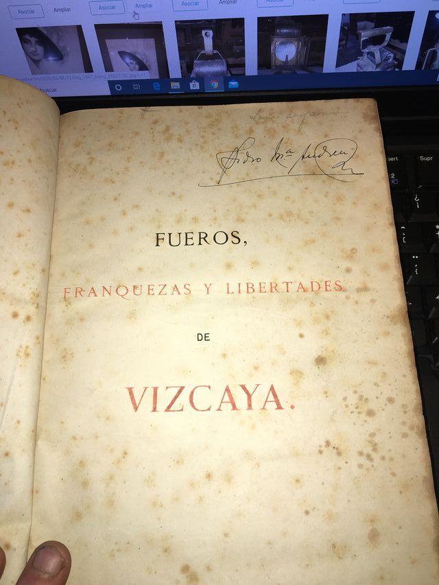 FUEROS FRANQUEZAS Y LIBERTADES DE VIZCAYA