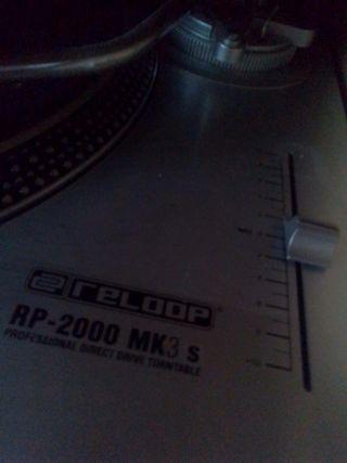 Reloop ap 2000 mk3 s mas mesa bst symbol 16
