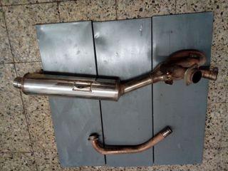 tubo escape colector suzuki sv 650