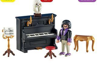 playmobil pianistas NUEVO