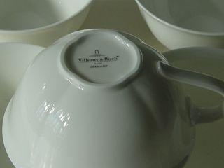 tazas porcelana Villeroy y platos