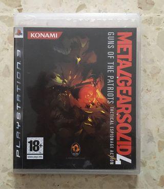 Metalgearsolid 4 PS3