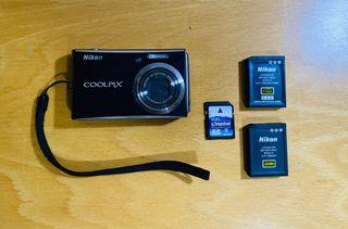 Cámara digital Nikon COOLPIX S610c