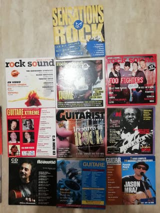 lote cds promos, revistas, etc