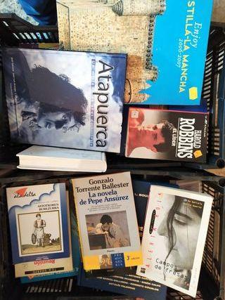 Vendo libros de todo tipo