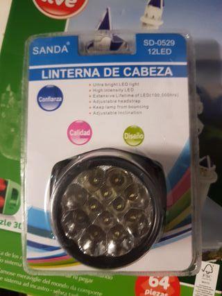 linterna cabeza SANDA