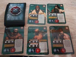 Garrek Cartas y Fundas Promo Warhammer Underworlds