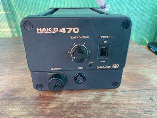 Estación desoldadora de estaño HAKKO 470