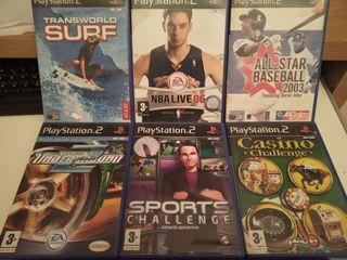 Videojuegos PlayStation 2 ( Deportes )