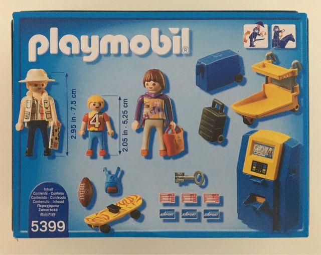 PLAYMOBIL 5399 FAMILIA CHECK - IN