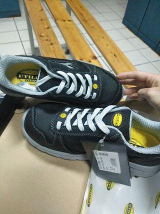 zapatos de seguridad de trabajo
