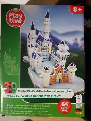 castillo 3d neuschwastein