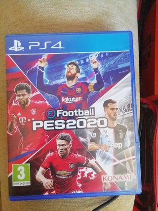 PES 20 PS4