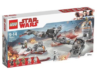 Lego Star Wars 75202 Defensa de Crait